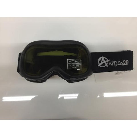 Anticorp Infant Goggle Black w/ Yellow LL - First Tracks Boardstore