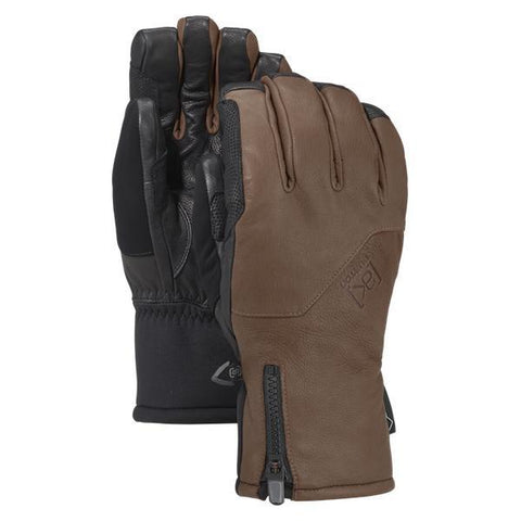 Burton AK Gore-Tex Guide Glove, Medium Brown - First Tracks Boardstore