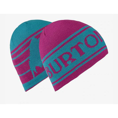 Burton Boys Billboard Beanie Tahoe/Grape Seed-Beanie-Burton-