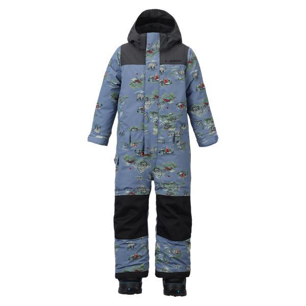 Burton Boys Mini Shred Striker One Piece Surviv/Trcdro 2019-One Piece-Burton-18-24M-