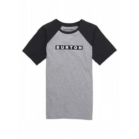 Burton Boys Vault T-Shirt, Gray Heather-T-Shirt-Burton-XS-