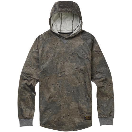 Burton Caption Pullover - Forest Night Hawaiian - First Tracks Boardstore