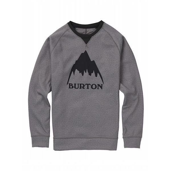 Burton Crown Bonded Crew, Monument Heather-Crew-Burton-S-