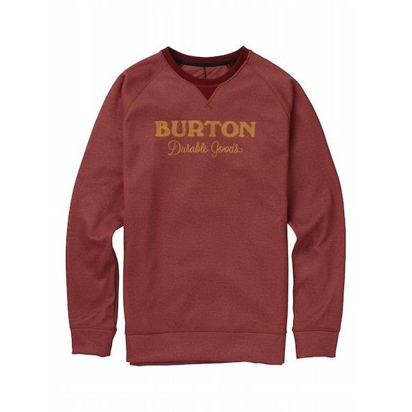 Burton Crown Bonded Crew, Sparrow Heather-Crew-Burton-S-Sparrow Heather-