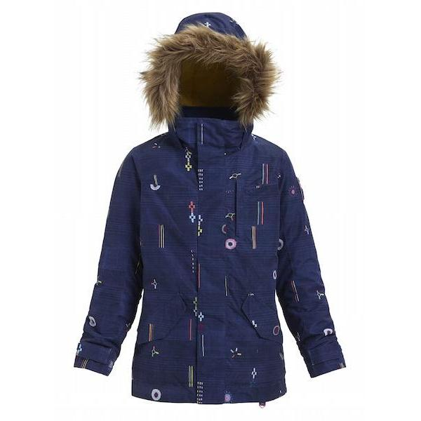 Burton Girls Aubrey Parker Jacket Camp Craft 2019 - First Tracks Boardstore