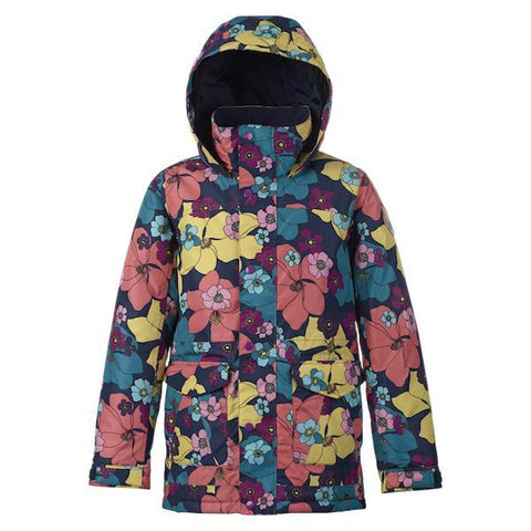 Burton Girls Elstar Parker Jacket Flowers 2019 - First Tracks Boardstore