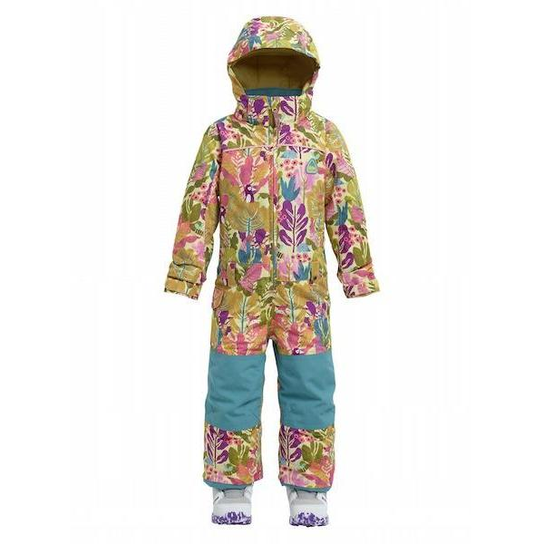 Burton Girls Mini Shred Illusion One Piece Forest Friends 2019-One Piece-Burton-18-24M-