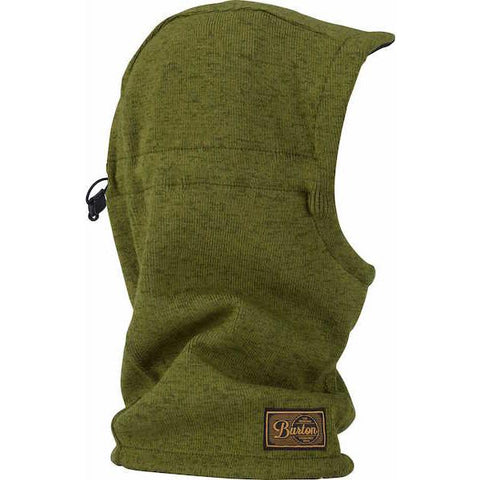 Burton Hampshire Hood, Rifle Green/ Olive Branch Marle - First Tracks Boardstore