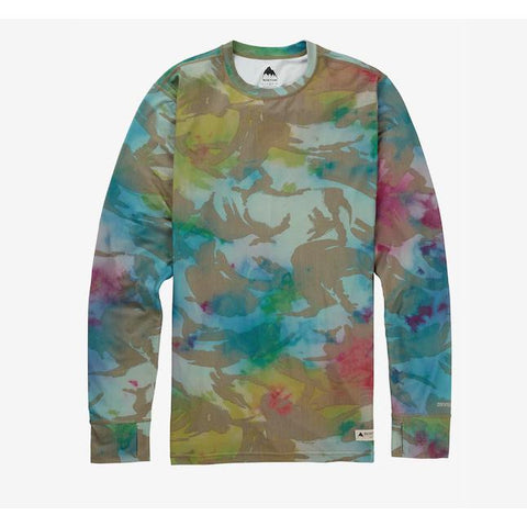 Burton Mid Weight Crew Festival Camo-Thermal-Burton-S-