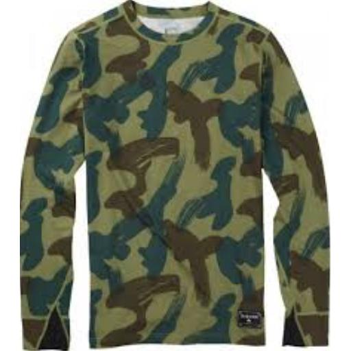Burton Mid Weight Wool Crew Denison Camo-Thermal-Burton-L-