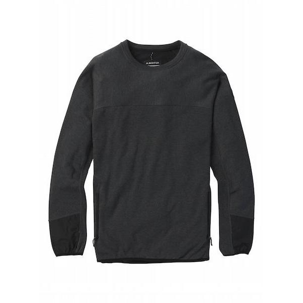 Burton Minturn Crew-Crew-Burton-M-True Black Heather-