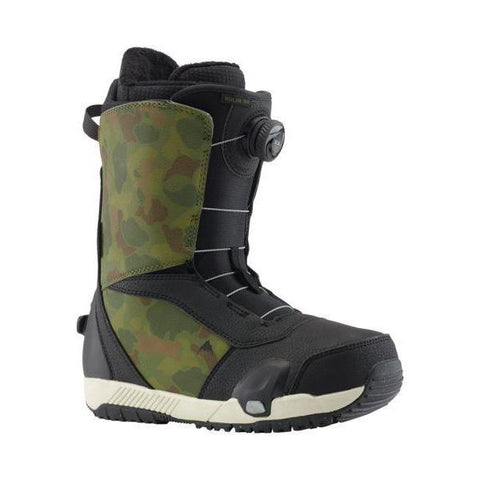 Burton Step On Ruler Boot, Black/Camo-Boot-Burton-9.5-