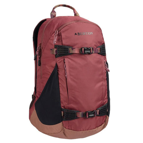 Burton Wms Day Hiker Pack 25L, Rose Brown Flight Satin-Backpacks-Burton-