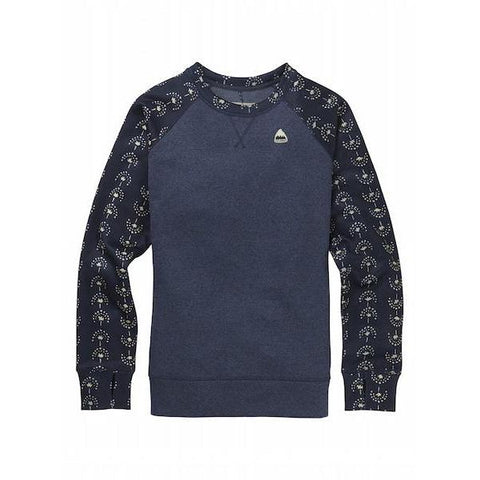 Burton Wms Oak Crew, Mood Indigo/ Float Away-Crew-Burton-S-