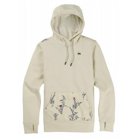 Burton Wms Oak Pullover, Canvas Heather/ Canvas Bird-Hoodie-Burton-S-
