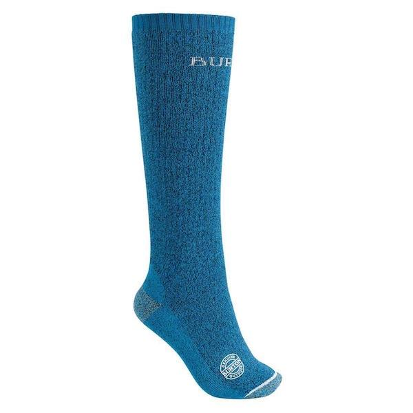 Burton Wms Performance Expedition Sock-Snowboard Socks-Burton-Deep Blue-S\M-