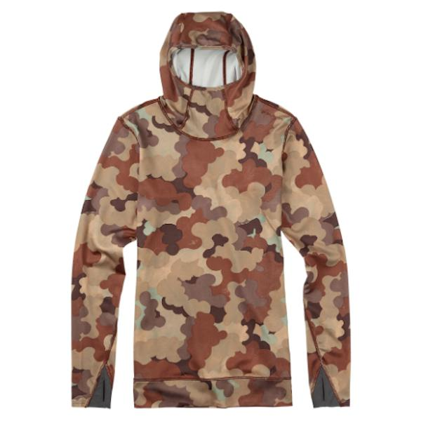 Burton Women's Power Stretch Hood Storm Camo-Thermal-Burton-L-