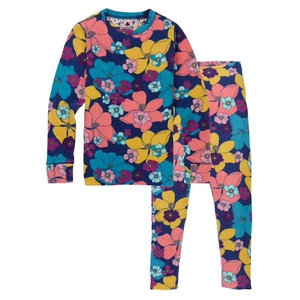 Burton Youth Fleece Set Flowers-Fleece-Burton-XS-