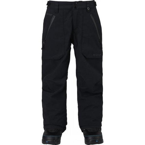 Burton Youth Gore-Tex Stark Pant True Black 2019 - First Tracks Boardstore