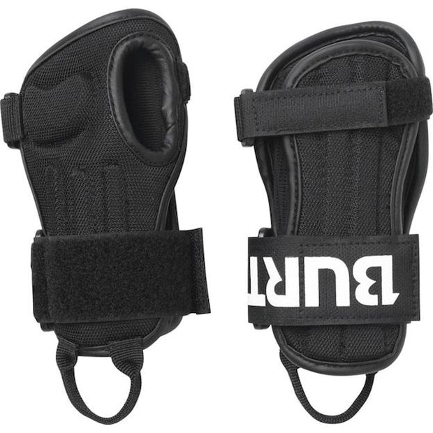 Burton Youth Wrist Guards - True Black - First Tracks Boardstore