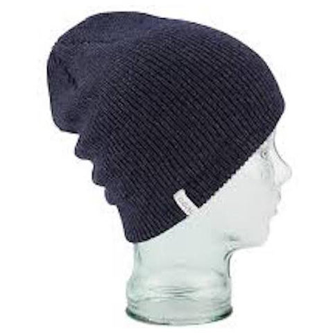Coal Beanie The Frena Solid, Heather Navy - First Tracks Boardstore