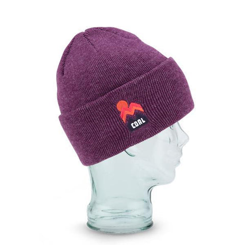 Coal Donner Beanie, Heather Plum-Beanie-Coal-Default-