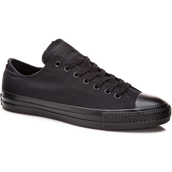 Converse Chuck Taylor Pro Low, Black/Black - First Tracks Boardstore