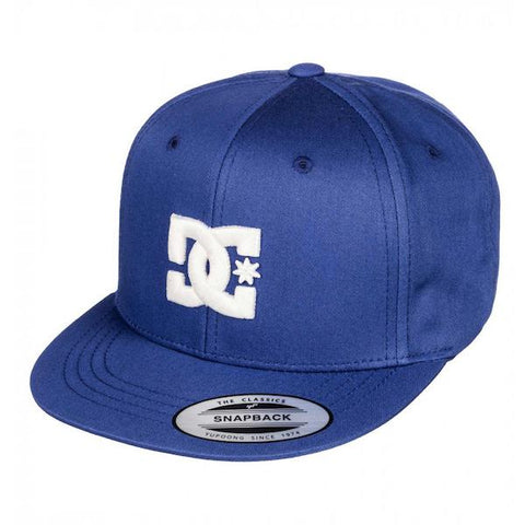 DC Boys Snapback Summer Blues - First Tracks Boardstore