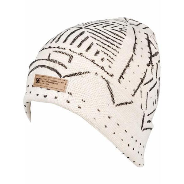 8e7410bc58b86d DC Label Beanie, Silver Birch Mud Cloth – First Tracks Boardstore
