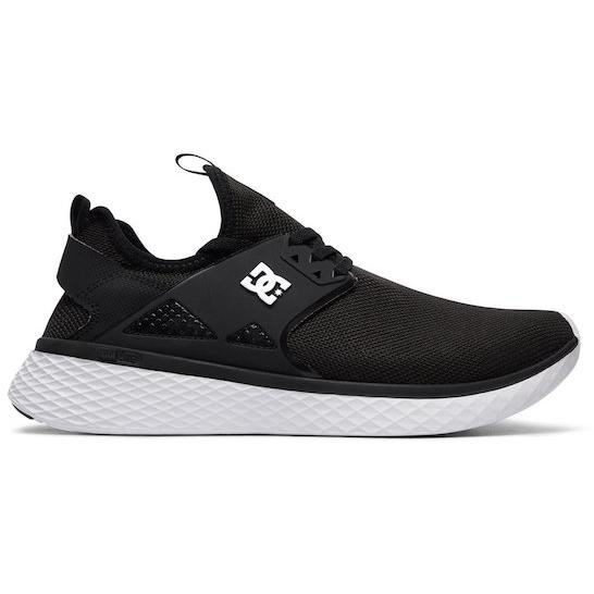 DC Meridian Shoe - Black/White - First Tracks Boardstore