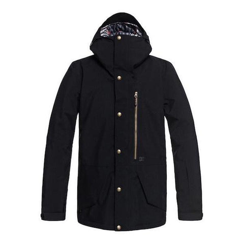 DC Outlier Jacket Mens Black 2019 - First Tracks Boardstore