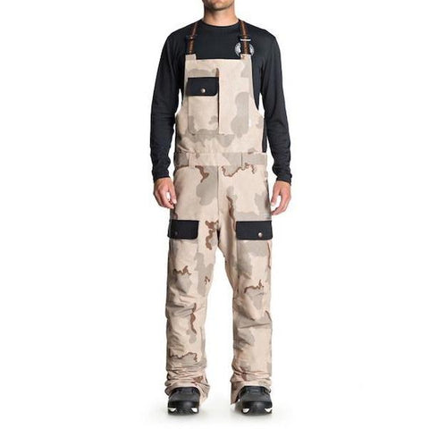 DC Platoon Bib Pant Mens Incense DCU Camo 2019 - First Tracks Boardstore