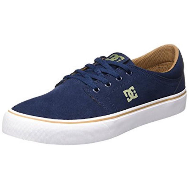 DC Trase SD Shoe - Navy/Turquoise - First Tracks Boardstore