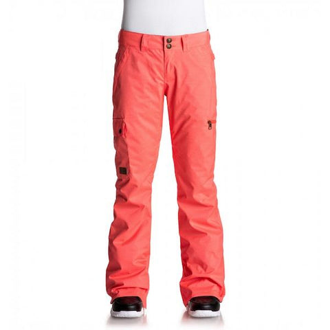 DC Wms Recruit Pant Fiery Coral 2019 - First tracks Boardstore