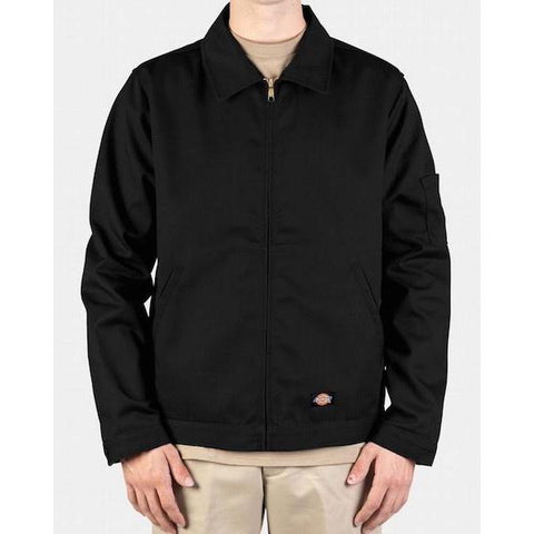 Dickies Lined Eisenhower Jacket-Casual Jacket-Dickies-M-Black-