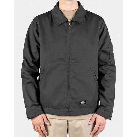 Dickies Lined Eisenhower Jacket-Casual Jacket-Dickies-S-Charcoal-