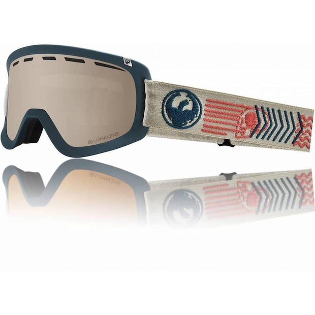 Dragon D1 OTG Goggle, Terra w/ LL Silver + LL Dark Smoke - First tracks Boardstore