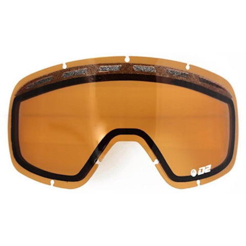 Dragon D2 Goggle Lens, Amber - First tracks Boardstore