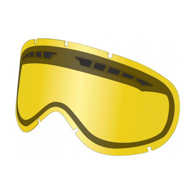 Dragon DXS Goggle Lens, Yellow - First tracks Boardstore