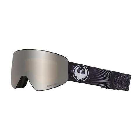 Dragon PXV Goggle, Galaxy w/ LL Silver Ion + LL Dark Smoke - first tracks Boardstore