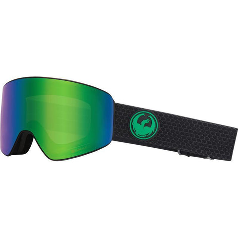 Dragon PXV Goggle, Split w/ LL Green Ion + LL Amber - First tracks Boardstore