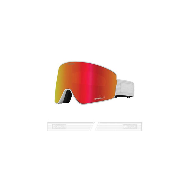 Dragon PXV2 Goggle, Corduroy w/ LL Red Ion + LL Rose-Goggle-Dragon-