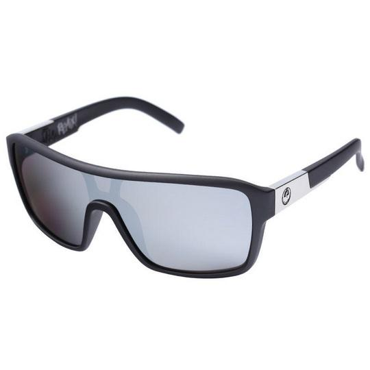 Dragon Remix Sunglass, Matte Black w/ Silver Ionised - First tracks Boardstore
