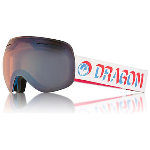 Dragon X1 Snow Goggle- Verge W/ LL Flash Blue + Dark Smoke || 2018 - First Tracks Boardstore
