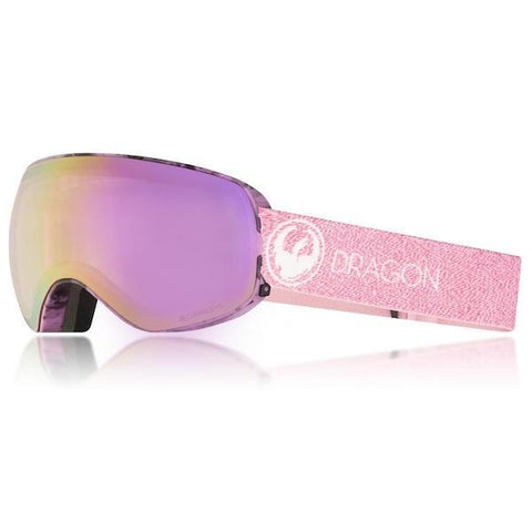 Dragon X2S Snow Goggle- Mill/ LL Pink Ion + Dark Smoke || 2018 - First Tracks Boardstore