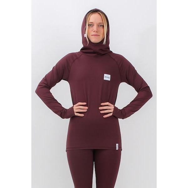Eivy Hoop Top, Wine-Thermal-Eivy-Wine-S-First Tracks Boardstore
