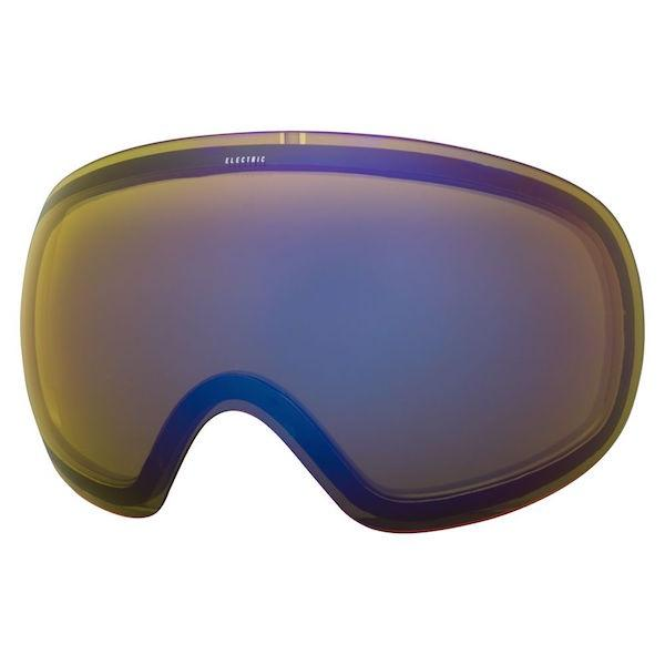 Electric EG3 Lens, Yellow/Blue Chrome - First tracks Boardstore
