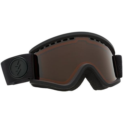 Electric EGV.K Goggle Matte Black w/ Brose - First Tracks Boardstore