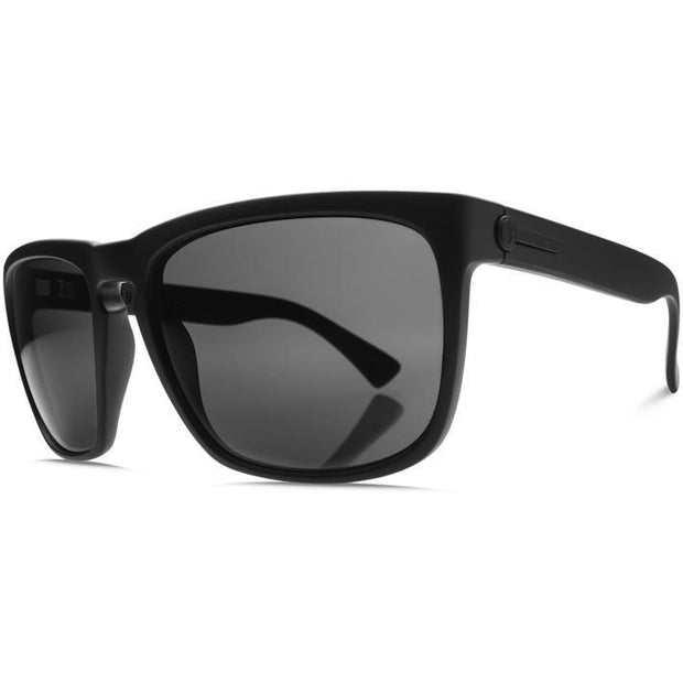 Electric Knoxville XL Sunglass Matte Black w/ OHM Grey - First Tracks Boardstore