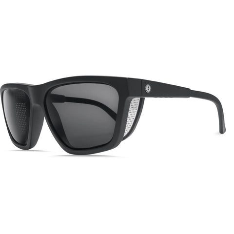 Electric Road Glacier Sunglasses, Matte Black w/OHM Grey - First Tracks Boardstore